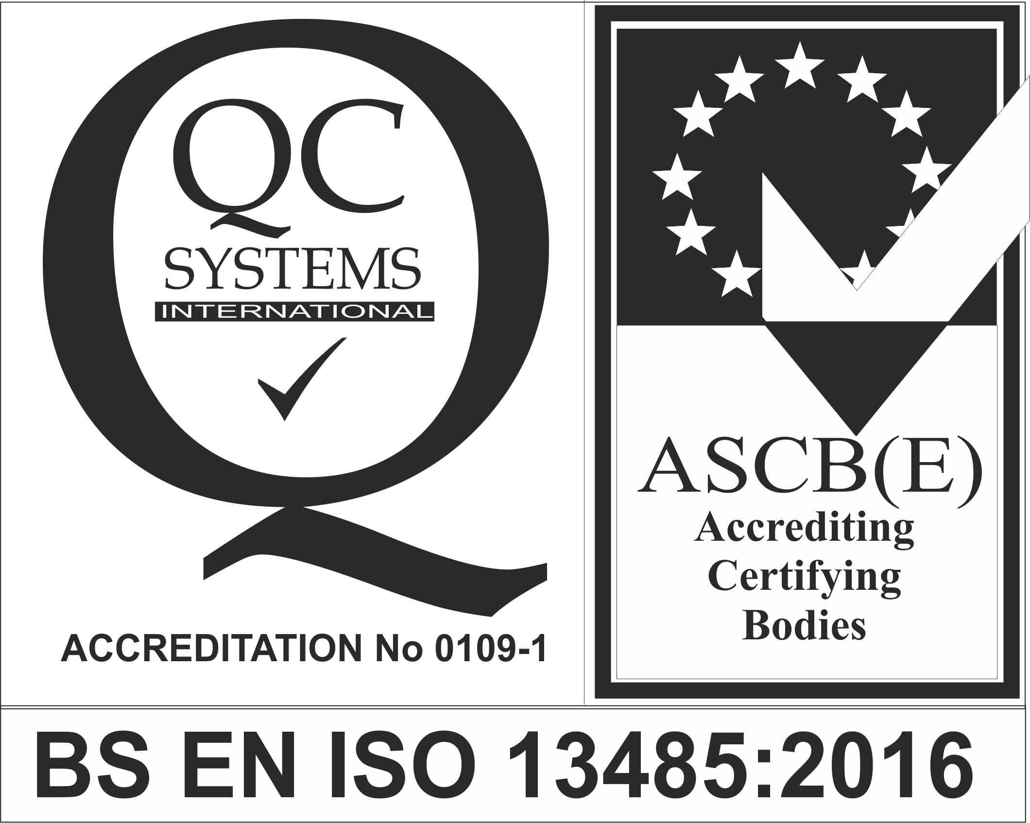 ASCB(E) BS EN ISO 13485:2016
